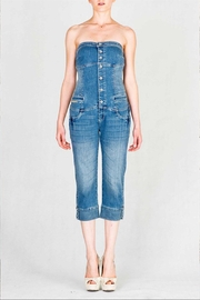virgin only Denim Strapless Jumper - Product Mini Image