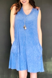 Joh Apparel Denim Tank Dress - Product Mini Image