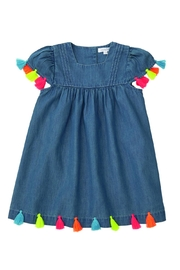 Mud Pie Denim Tassel Dress - Product Mini Image