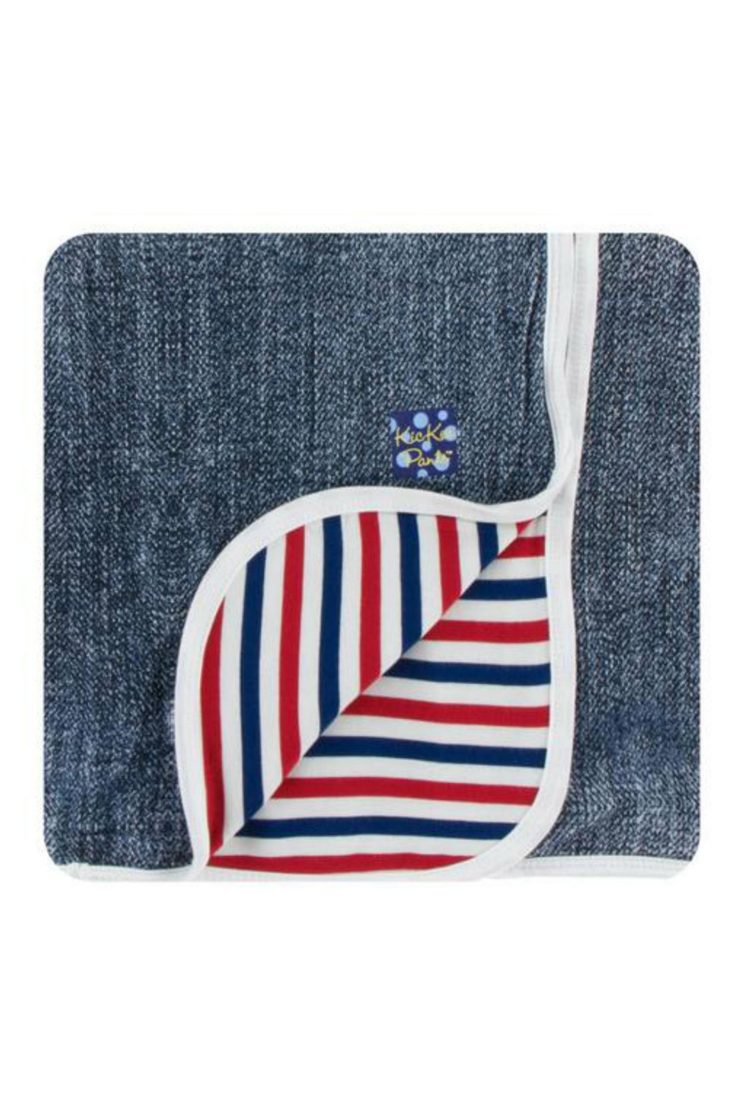 Kickee Pants Denim Toddler-Blanket - Main Image