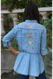 Nostalgia DENIM TOP - Product Mini Image