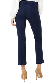 Liverpool Denim trouser with embroidery - Front full body