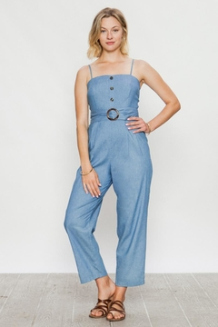 Shoptiques Product: Denim Tube Jumper