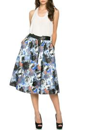 Denim Spot Blue Rose Skirt - Product Mini Image