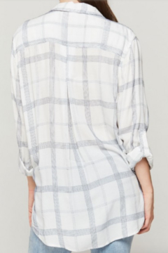 Velvet Hearts Denise Surplice Plaid Shirt - Alternate List Image