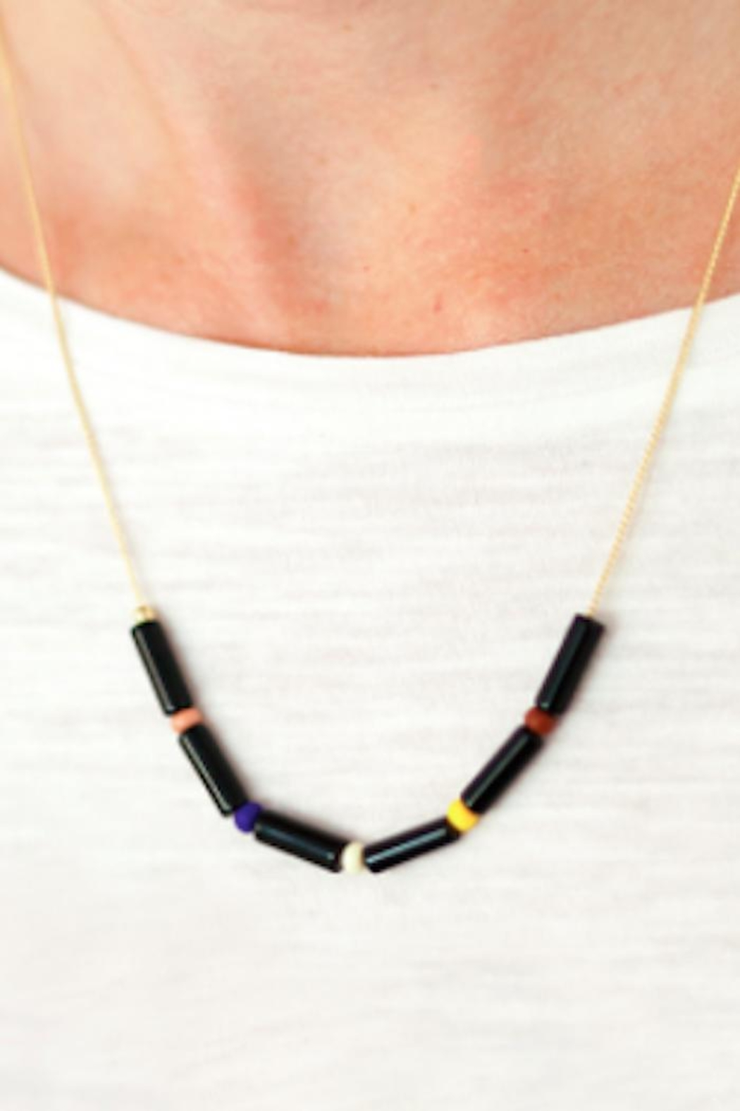 Depeapa Fiesta Necklace - Front Full Image