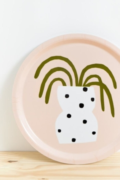 Depeapa Polka-Dots Vase Tray - Alternate List Image