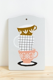Depeapa Teacup Cutting Board - Product Mini Image