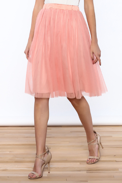 Shoptiques Product: Pink Tulle Skirt