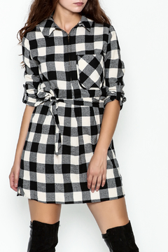 Depri Buffalo Check Shirt Dress - Product List Image