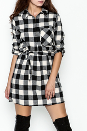 Depri Buffalo Check Shirt Dress - Product Mini Image