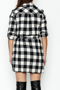 Depri Buffalo Check Shirt Dress - Alternate List Image