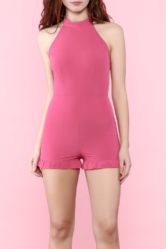 Shoptiques Product: Hot Pink Romper