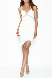 Depri Strap White Dress - Product Mini Image