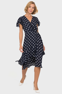 Shoptiques Product: Derby Dots Dress, Midnight