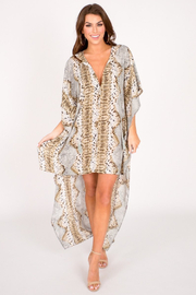 Buddy Love Derby High-Low Dress - Product Mini Image