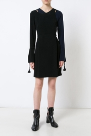 Derek Lam 10 Crosby Asymmetrical Bell-Sleeve Dress - Product Mini Image