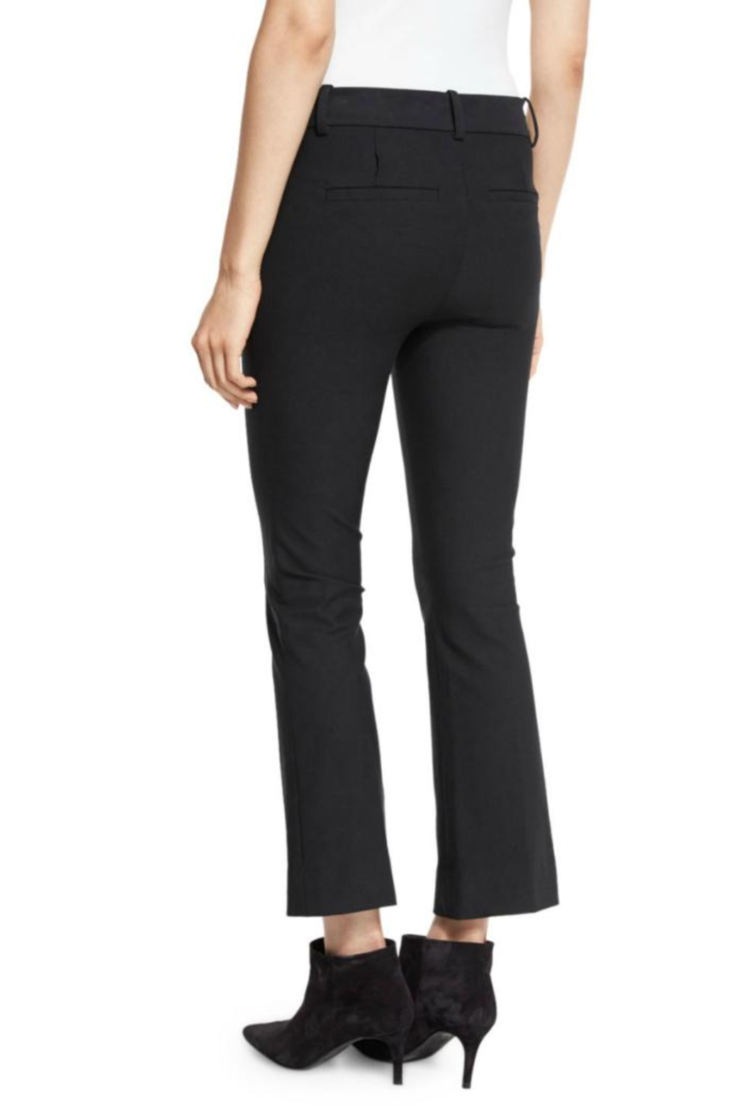 Derek Lam 10 Crosby Cropped Flare Trouser - Side Cropped Image