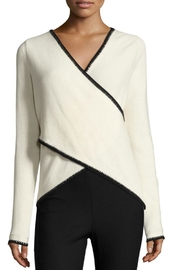 Derek Lam 10 Crosby Cross Front Sweater - Product Mini Image