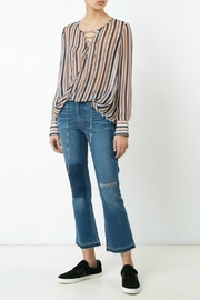 Derek Lam 10 Crosby Lace Up Blouse - Product Mini Image