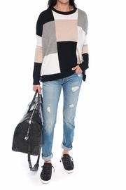 Derek Lam 10 Crosby Patchwork Sweater - Product Mini Image