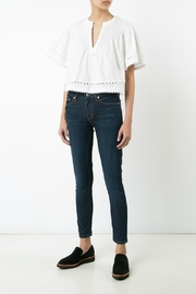 Derek Lam 10 Crosby Pintuck Top - Product Mini Image