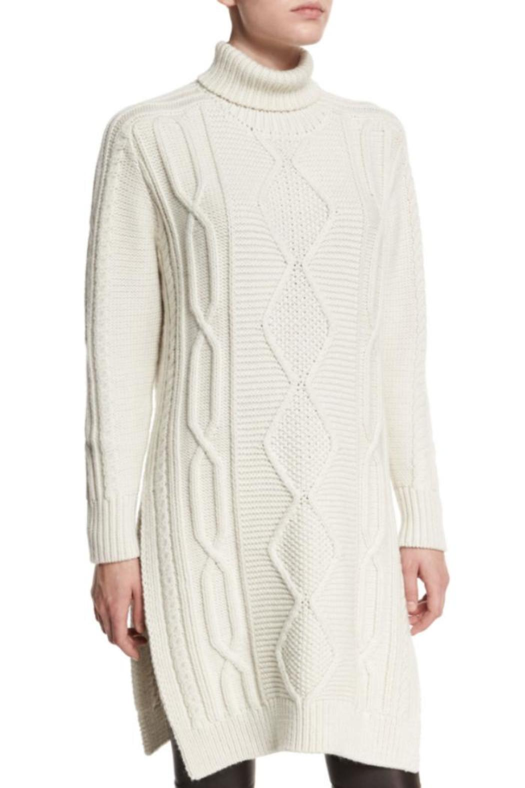 Derek Lam 10 Crosby Turtleneck Sweater Dress - Main Image