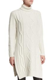 Derek Lam 10 Crosby Turtleneck Sweater Dress - Front cropped