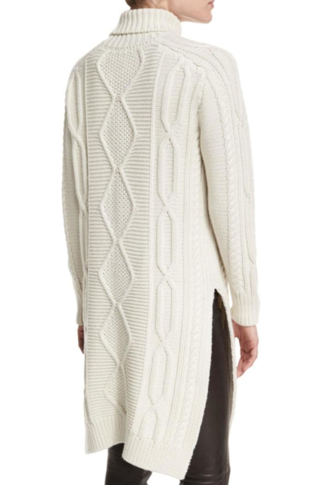 Derek Lam 10 Crosby Turtleneck Sweater Dress - Front Full Image