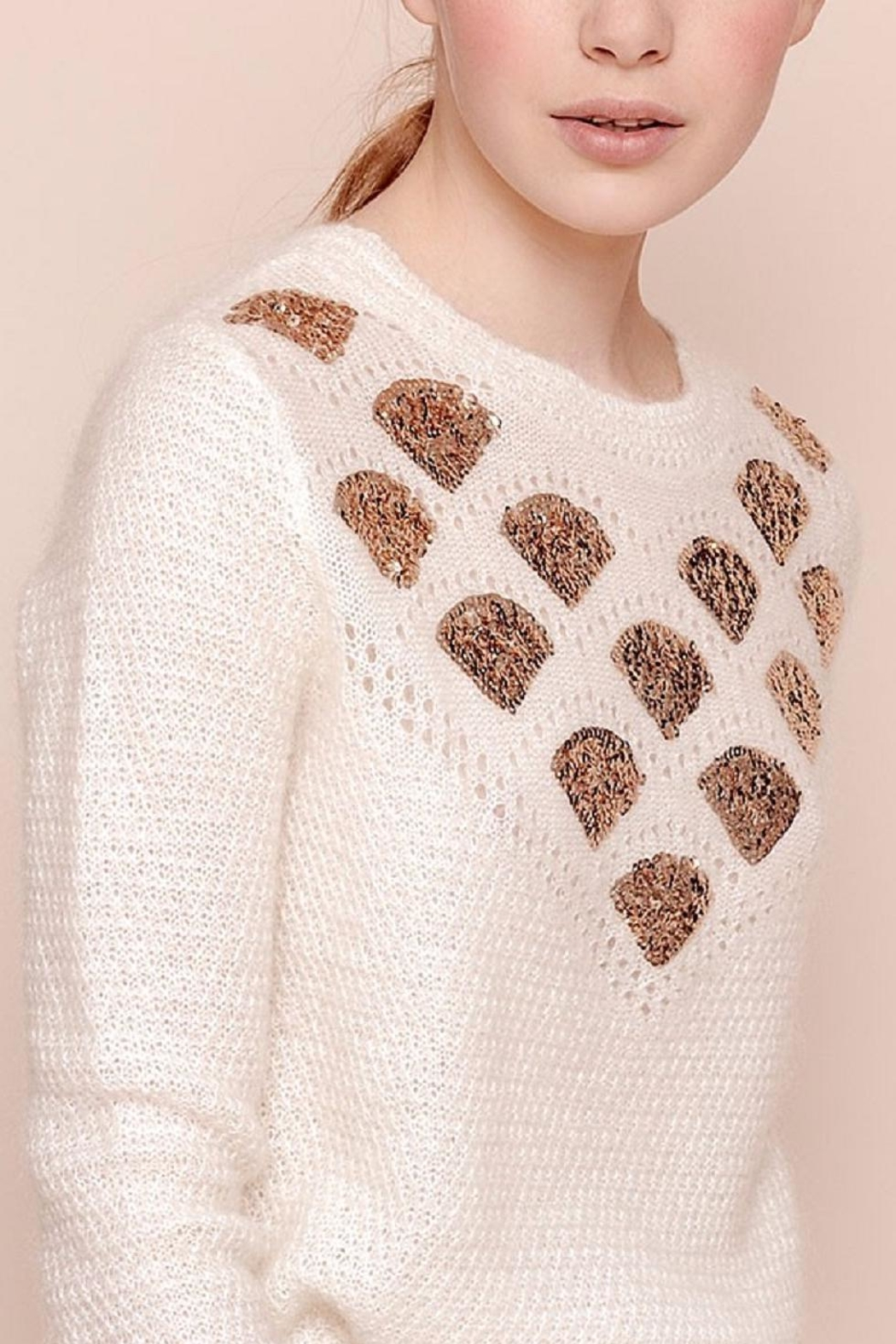 Des Petits Hauts Whimsical Pullover - Main Image