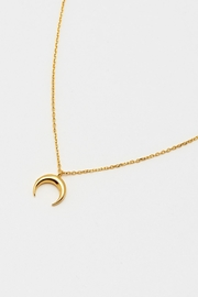 ESTELLA BARTLETT Curved Horn Necklace - Product Mini Image