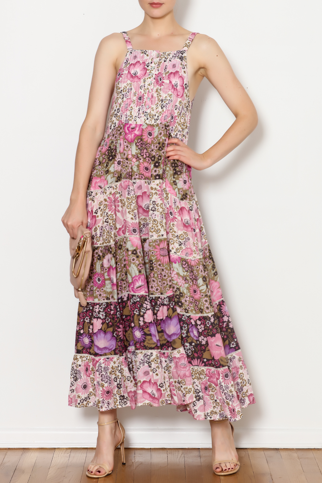 285fad0425b Spell   the Gypsy Collective Desert Daisy Maxi Dress - Front Cropped Image