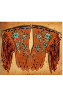 Patricia Wolf Desert Rose Riding-Gloves - Product List Image