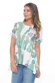 Inoah Desert Waffle Top - Front cropped