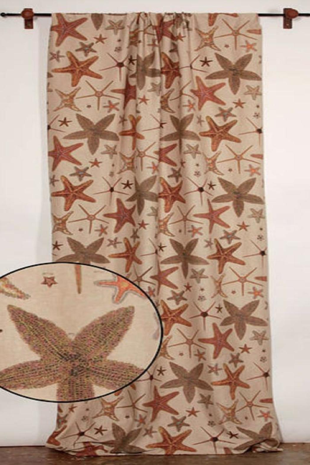 Design Legacy Starfish Curtain Panel - Side Cropped Image