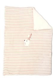 Lalalu designer baby blanket made in Italy - Product Mini Image