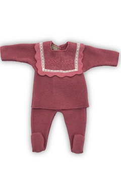 Shoptiques Product: DESIGNER BABY KNIT SET - PERFECT GIFT FOR NEWBORN