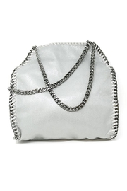 Nadya's Closet Designer Chain-Accent Tote - Product Mini Image
