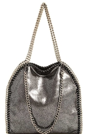 Nadya's Closet Designer Chain-Accent Tote - Front cropped