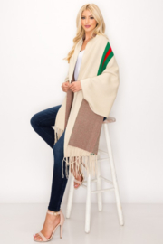 Love & Repeat Designer Inspired Poncho - Side cropped