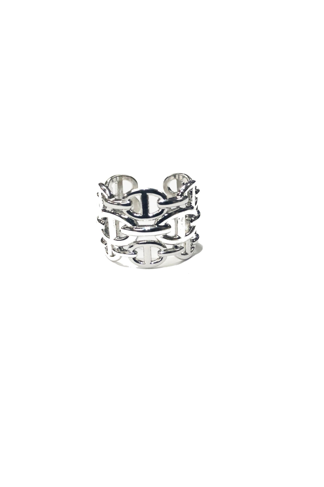 Lets Accessorize Designer Inspired Ring - Front Cropped Image