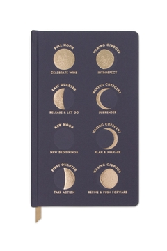Designworks Ink Phases Of The Moon Hard Bound Cloth Journal - Product List Image