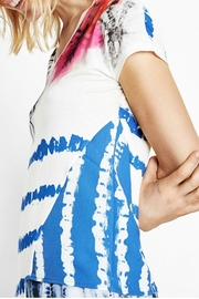 DESIGUAL Abstract Striped Tee - Other