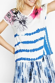 DESIGUAL Abstract Striped Tee - Product Mini Image