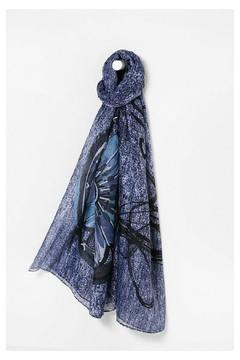 Shoptiques Product: Adhara Blue Scarf