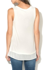 DESIGUAL Agu White Tank - Front full body
