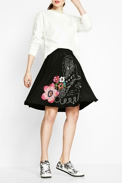 Shoptiques Product: Artistic Doodled Skirt