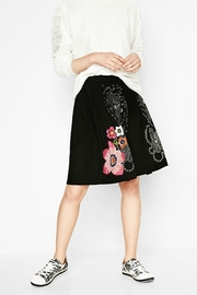 DESIGUAL Artistic Doodled Skirt - Other