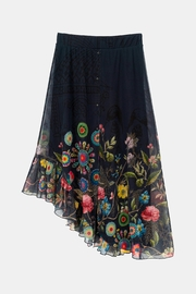 DESIGUAL Asymmetrical Tulle Skirt - Other