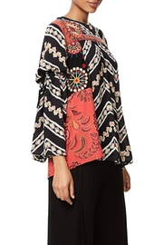 DESIGUAL Bell Sleeve Blouse - Side cropped